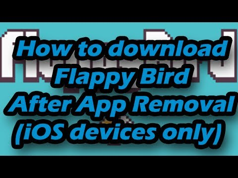 How to download and install Flappy Bird (after it has been removed from App Store)