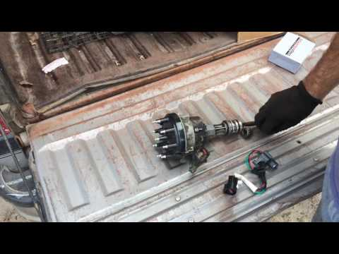 Ford pickup coil replacement part 1