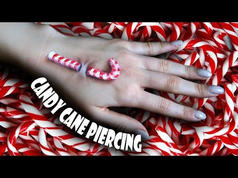 CANDY CANE PIERCING Tutorial