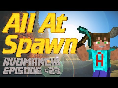 Minecraft   Villager Breeder in the Spawn Chunks   Avomancia Ep23   Moving Villagers Around
