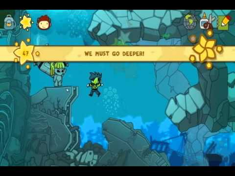 Let's Play Scribblenauts Unlimited  - Lost Kingdom of Parentheses Part 2