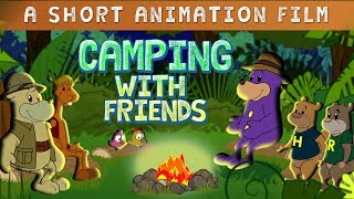 Camping With Zaky & Friends - Short Animation Film