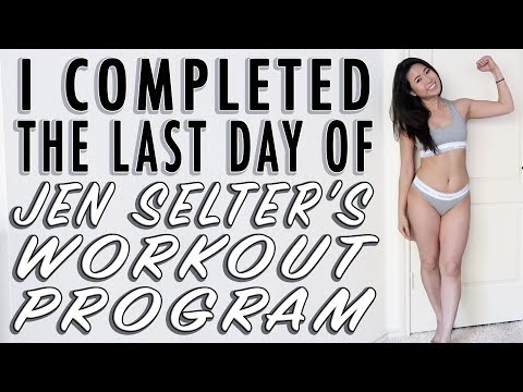 I Completed 8 Weeks of JEN SELTER'S Bikini Body Challenge Workout Program | My Body Transformation