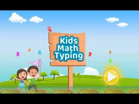 Kids Math Typing Video