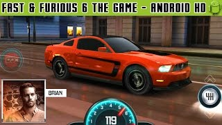 Fast & Furious 6: The Game - Gameplay Android HD / HQ Audio (Android Games HD)
