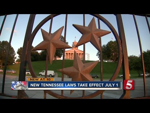 New Laws Taking Effect In Tennessee July 1