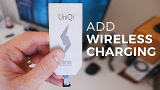 How to add wireless charging to the HTC U11 or any smartphone