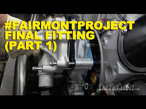 #FairmontProject Final Fitting (Part 1)