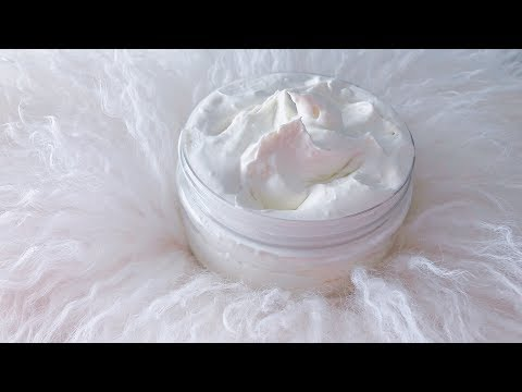 HOW TO MAKE WHIPPED SHEA BUTTER | ALL NATURAL & GREAT FOR SKIN! | DIY