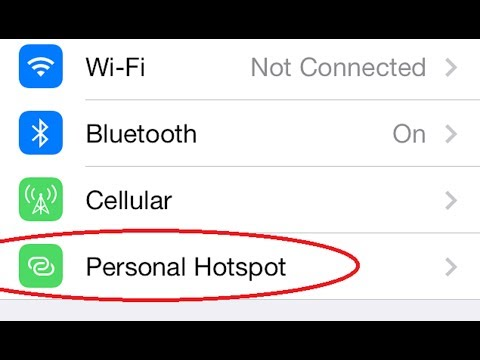 GET MISSING PERSONAL HOTSPOT IN IPHONE ABD OTHER IOS DEVICES TRICK