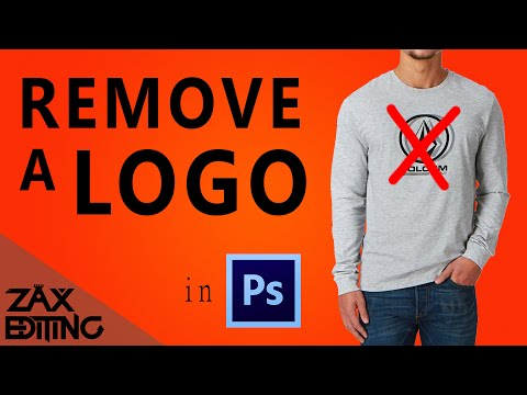 How to Remove a Logo! | Adobe Photoshop Tutorial
