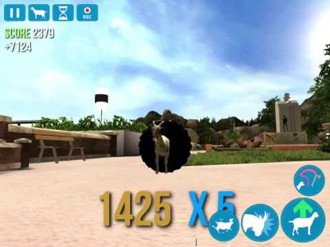 Goat Simulator how to get cheer goat prom goat and stoned goat