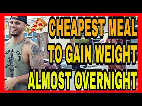 Cheapest Meal For Weight Gain! EASY TO MAKE