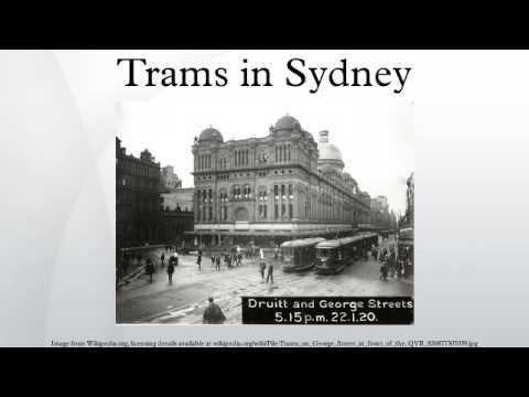 Trams in Sydney