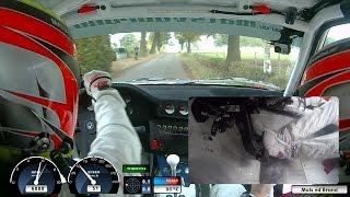 ONBOARD CONRAD Twente Rally 2016 BMW M3 E30 by Mats vd Brand & Eddy Smeets