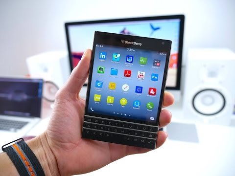 Blackberry PASSPORT REVIEW (After 4 Months)