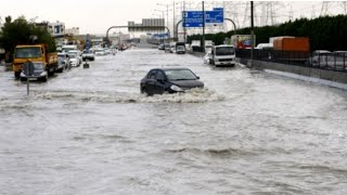 Rain in Sharjah| Rainfall in U.A.E|Rain in Dubai|Todays rain in Sharjah Dubai|heavy rain in dubai l