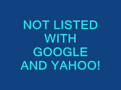 Get Listed With Google And Yahoo To Be Seen In Your Market