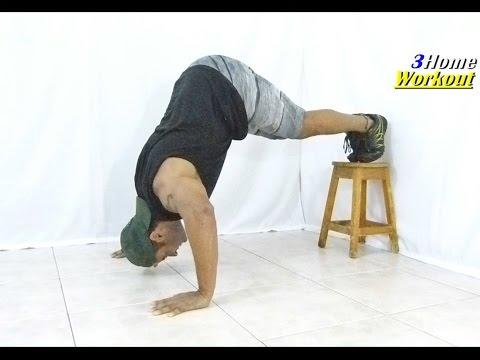 *FREAK SHOULDER* Home Exercise - High Hindu Push up