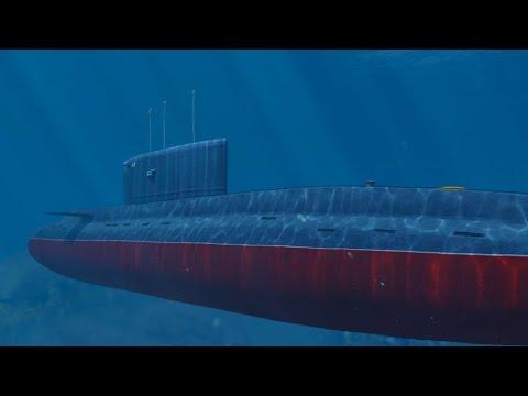 GTA 5 Nuclear Submarine Mod