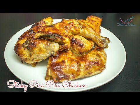 How to Make Sticky Piri Piri Chicken Sauce Blend (Ready Made) by Hibas Kitchen