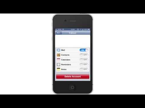 How toSync Yahoo!Calendarwith iPhone and iPad Calendar