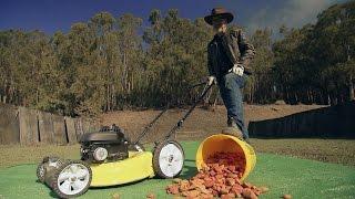 Lethal Lawn Mowers MiniMyth | MythBusters