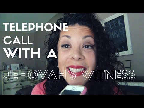 Telephone Call with a Jehovah's Witness - JW Admits Watchtower Predicted 1975