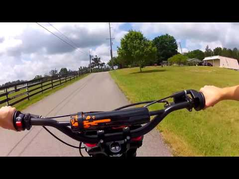 How to Ride/Shift On A Manual Pit Bike (Tao-Tao 125cc)