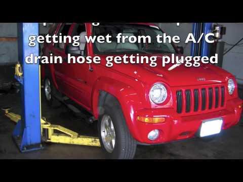 Jeep A C drain hose