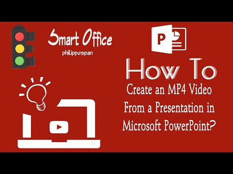Create an MP4 Video From a PowerPoint Presentation.wmv