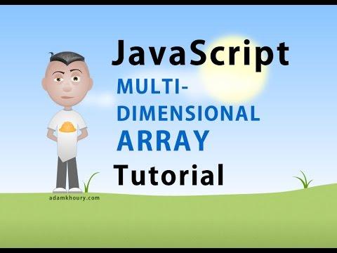 Multidimensional Array JavaScript Programming Tutorial