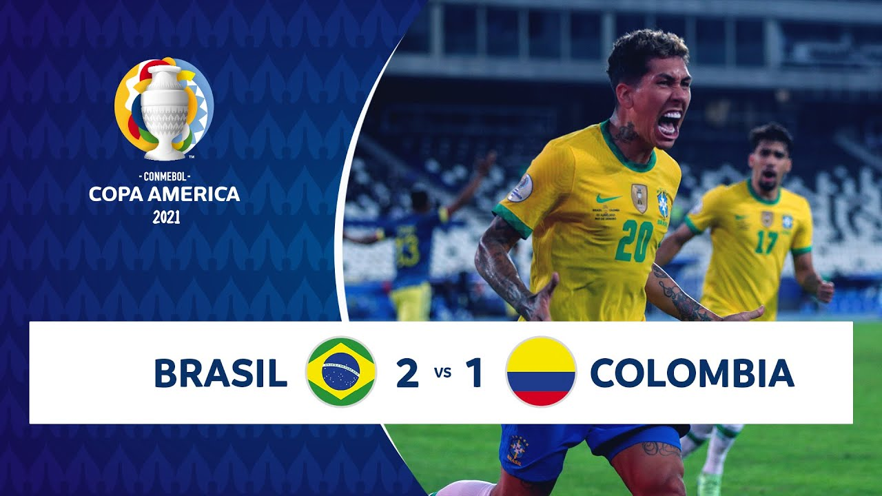 HIGHLIGHTS BRASIL 2 - 1 COLOMBIA   COPA AMÉRICA 2021   23-06-21