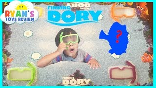 Disney Pixar Finding Dory See Search Game Family Fun Hide and Seek Toy for Kids Egg Surprise Ryan To