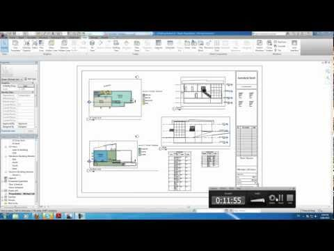 Autodesk Revit Tutorials: 19 Creating a Sheet