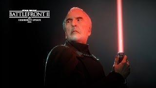 Star Wars Battlefront II: Count Dooku – Community Update