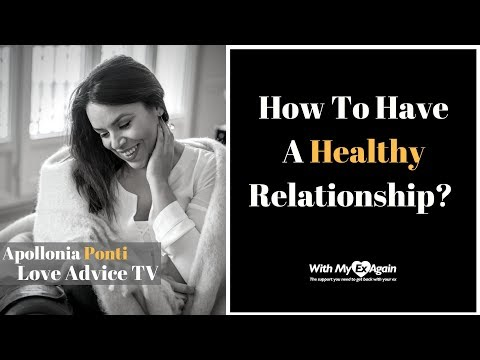 How To Have A Healthy Relationship | Interview With Apollonia Ponti