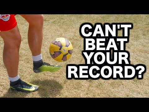 Soccer juggling tutorial for beginners & kids   How to juggle a football   The basics of juggling