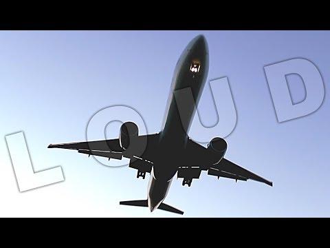 {TrueSound}™ Air Canada Boeing 777-300ER LOW Overhead Landing at Ft. Lauderdale