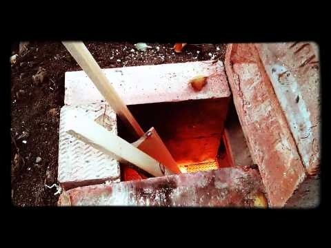 Rocket stove experiments