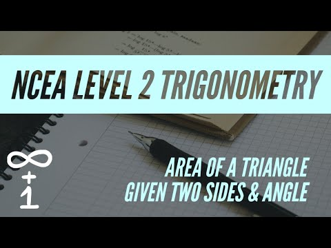Area of a Triangle - 2 Sides & Included Angle