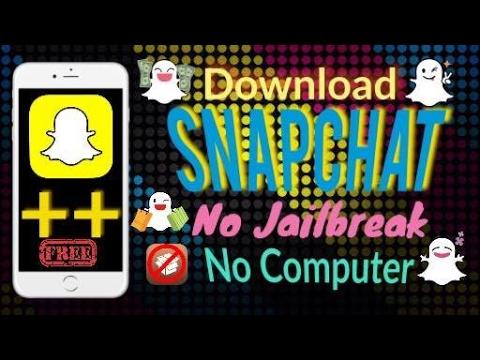 Get Snapchat++ For Free No Jailbreak No Computer Fix