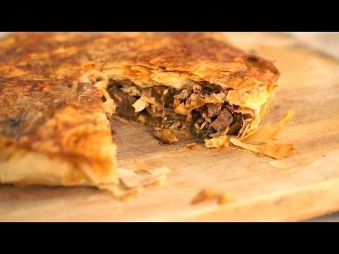 Chicken Fillo Pie @ The Kitchen Lab