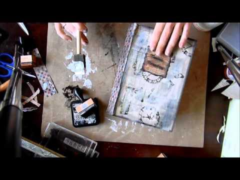 Ki's Paper Mache Book Box