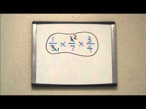 Cross-Canceling With 3 Fractions