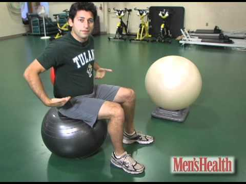 How to Choose the Right Exercise Ball - Men's Health Minute
