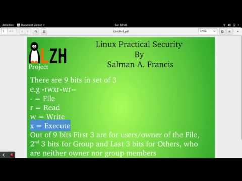 Linux Practical Security Course Demo Video 2
