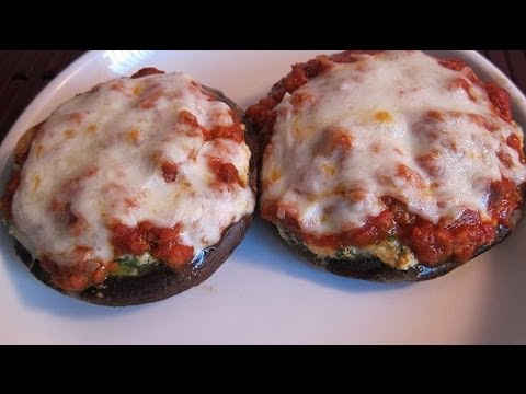 Lasagna Stuffed Portobello Mushrooms (Main Dish)