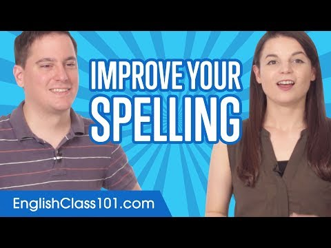 English Topics - Basic Rules to Improve your English Spelling