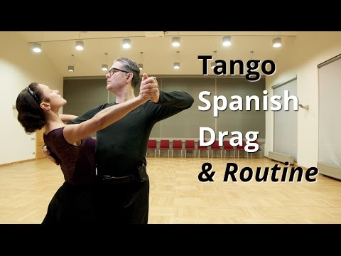 Tango Routine | Spanish Drag + Ballroom Dance Figures